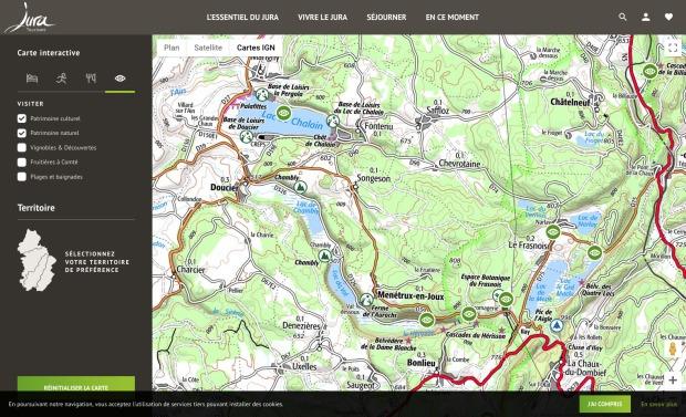 Screenshot_2019-04-09 Carte détaillée du Jura, carte interactive, Plan du Jura - Jura Tourisme